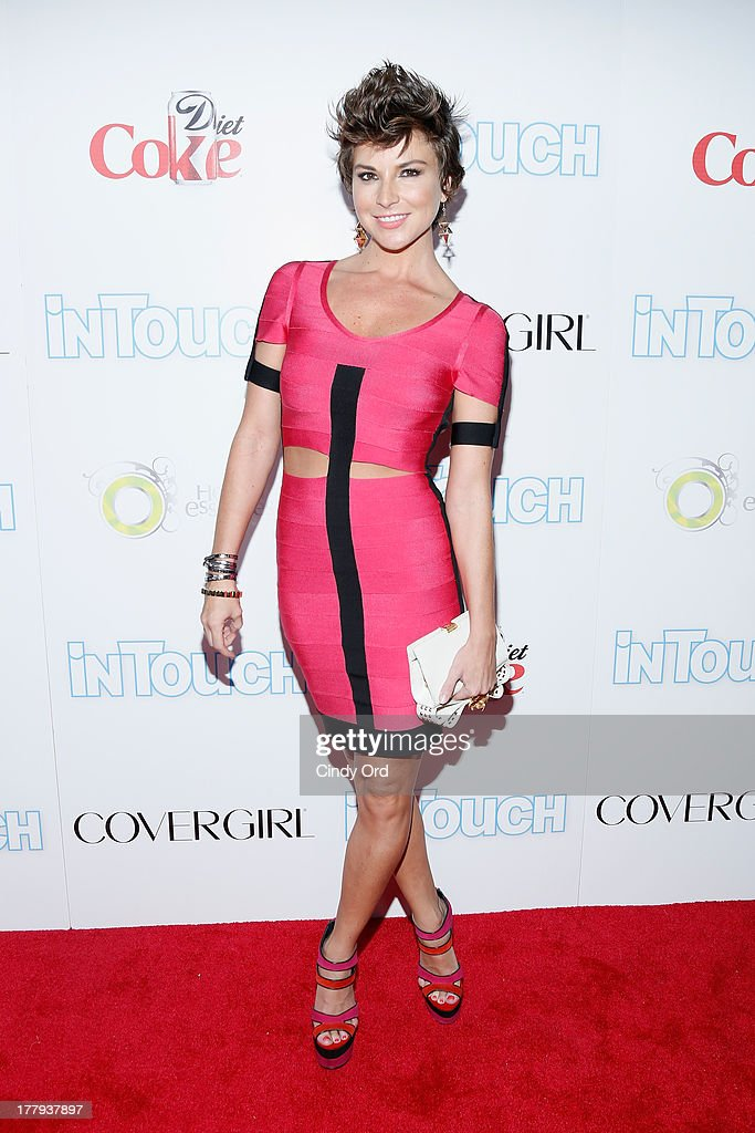 Reporter <a gi-track='captionPersonalityLinkClicked' href=/galleries/search?phrase=Diem+Brown&family=editorial&specificpeople=962153 ng-click='$event.stopPropagation()'>Diem Brown</a> arrives at Intouch Weekly's 'ICONS & IDOLS Party' at FINALE Nightclub on August 25, 2013 in New York City.