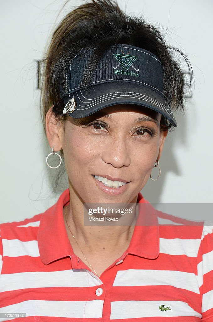 Reporter Jane Yamamoto attends The 4th annual Alex Thomas Celebrity Golf Classic presented by Belvedere at Mountain Gate Country Club on July 15, 2013 in Los Angeles, California.