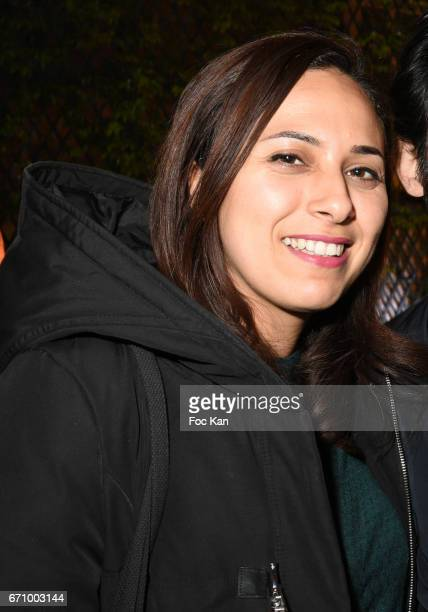 TV reporter Salhia Brakhlia attends 'Tonic Follies' Villa Schweppes Before Cannes Festival Party at Foundation Mona Bismarck on April 20 2017 in...