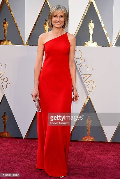 Reporter Willow Bay attends the 88th Annual Academy Awards at Hollywood Highland Center on February 28 2016 in Hollywood California