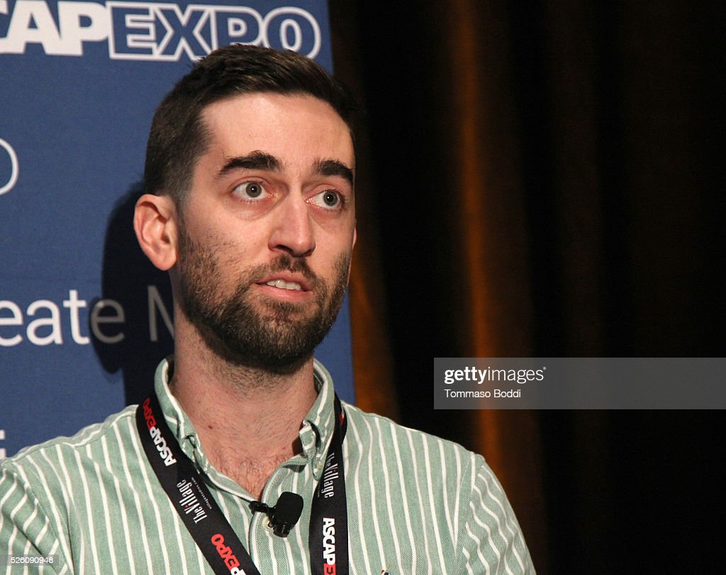 Repost Network Founder/CEO Jeff Ponchick speaks onstage during the 'Navigating the Landscape of YouTube and Beyond' panel, part of the 2016 ASCAP 'I Create Music' EXPO on April 29, 2016 in Los Angeles, California.