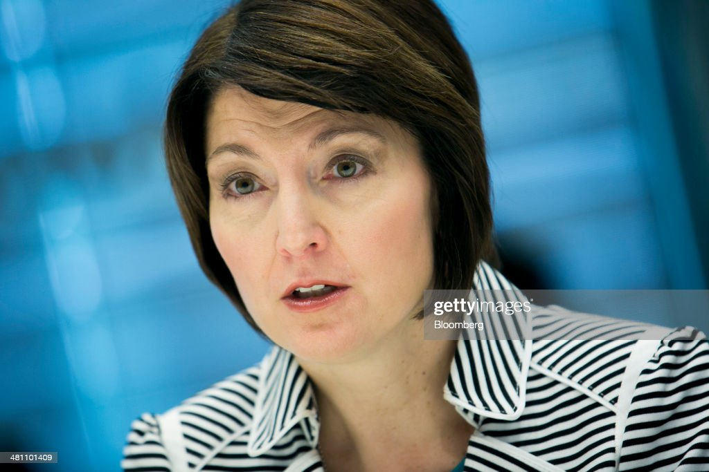 Representative <a gi-track='captionPersonalityLinkClicked' href=/galleries/search?phrase=Cathy+McMorris+Rodgers&family=editorial&specificpeople=5685653 ng-click='$event.stopPropagation()'>Cathy McMorris Rodgers</a>, a Republican from Washington, speaks during an interview in New York, U.S., on Friday, March 28, 2014. President Obama 'doesn't have the flexibility' in health-care law to change deadlines, McMorris Rodgers said. Photographer: Scott Eells/Bloomberg via Getty Images