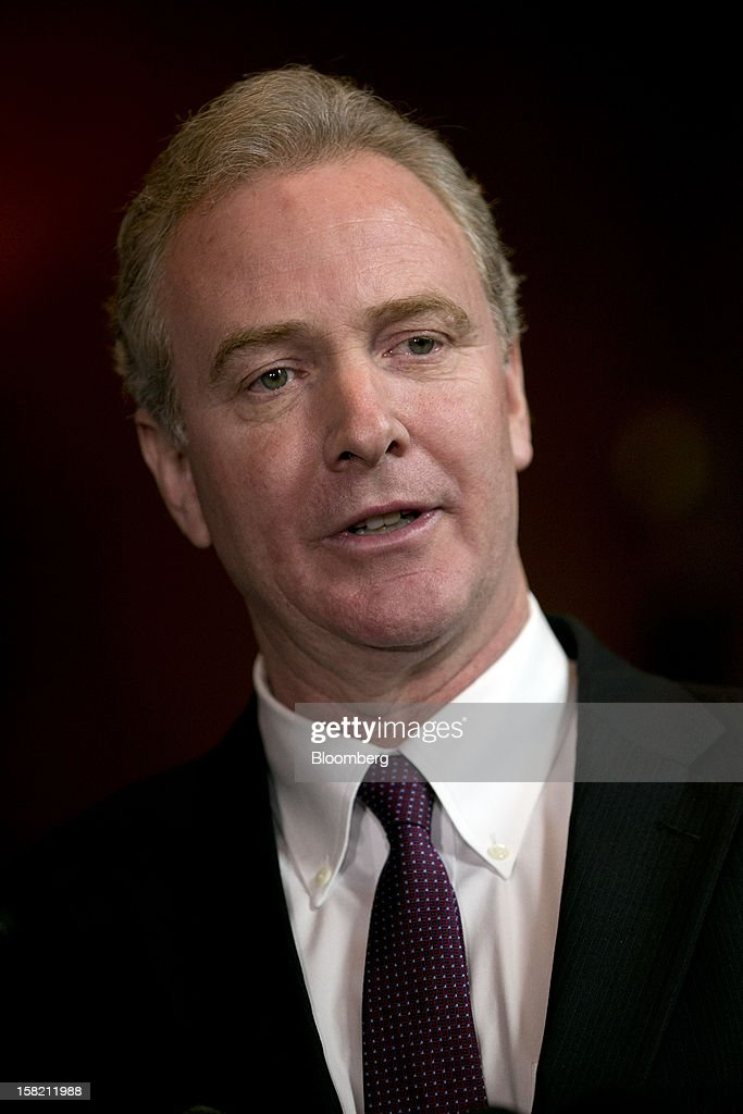 Representative Chris Van Hollen, a Democrat from Maryland, speaks during a news conference in Washington, D.C. U.S., on Tuesday, Dec. 11, 2012. Democratic lawmakers want Medicaid funding protected in the fiscal cliff talks. Photographer: Andrew Harrer/Bloomberg via Getty Images