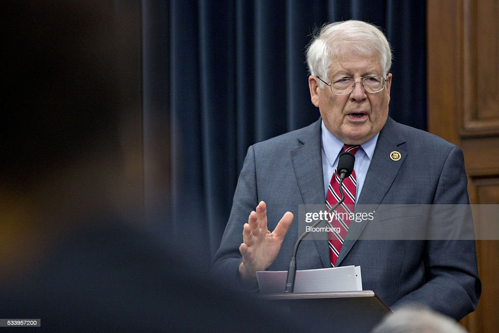 Representative David Price, a Democrat from North Carolina, speaks during a House Appropriations Committee markup in Washington, D.C., U.S., on Tuesday, May 24, 2016. The committee was meeting on the markup of the FY2017 Commerce, Justice and Science bill and the FY 2017 Transportation, Housing and Urban Development Appropriations bill. Photographer: Andrew Harrer/Bloomberg via Getty Images