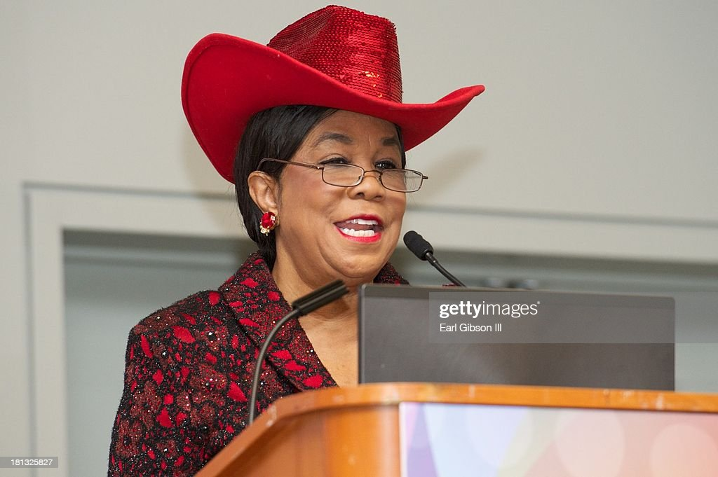 U.S. Representative Frederica S. Wilson serves as a moderator on one of the sessions entitled 'Saving Our Sons' on Day 3 of the 43rd Annual Legislative Conference on September 20, 2013 in Washington, DC.