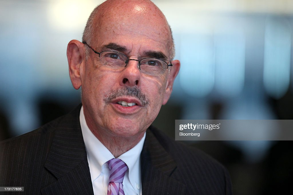 Representative <a gi-track='captionPersonalityLinkClicked' href=/galleries/search?phrase=Henry+Waxman&family=editorial&specificpeople=217361 ng-click='$event.stopPropagation()'>Henry Waxman</a>, a Democrat from California, speaks during an interview in Washington D.C., U.S. on Tuesday, July 9, 2013. The train explosion in Quebec could increase pressure to approve Keystone XL pipeline, though 'Im against it and Im hoping the president doesnt approve it,' Waxman said. Photographer: Julia Schmalz/Bloomberg via Getty Images