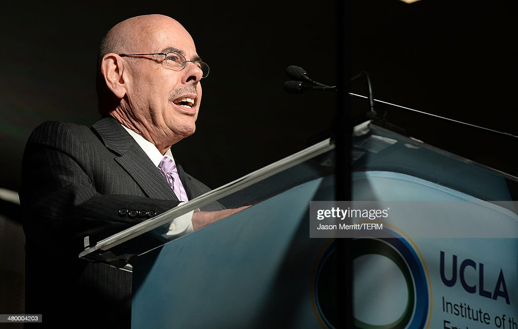 U.S. Representative <a gi-track='captionPersonalityLinkClicked' href=/galleries/search?phrase=Henry+Waxman&family=editorial&specificpeople=217361 ng-click='$event.stopPropagation()'>Henry Waxman</a> attends an Evening of Environmental Excellence presented by The UCLA Institute Of The Environment And Sustainability at Private Residence on March 21, 2014 in Los Angeles, California.