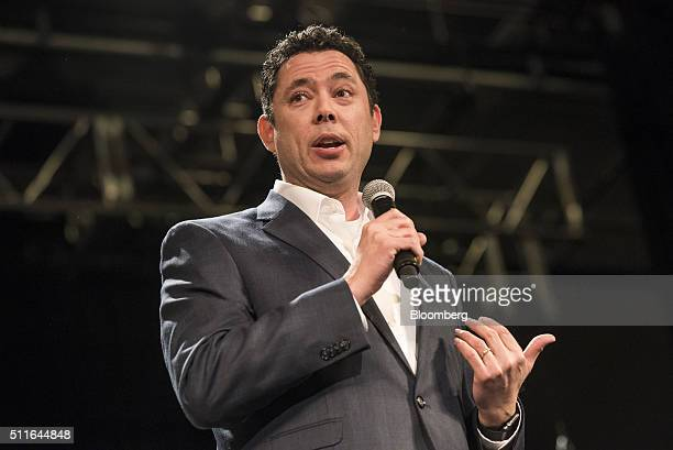 Representative Jason Chaffetz a Republican from Utah and chairman of the House Oversight and Government Reform Committee speaks during a campaign...