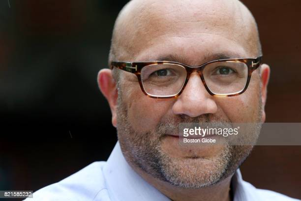 Representative Jeffrey Sánchez the chairman of the House Committee on Ways and Means poses for a portrait during a cookout at the Mildred C Hailey...