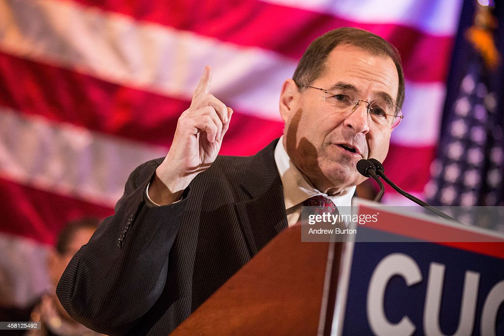 U.S. Representative Jerry Nadler (D-NY) speaks at an event to support the reelection of New York state Governor Andrew Cuomo on October 30, 2014 in New York City. Citizens go to the polls next Tuesday, November 4.