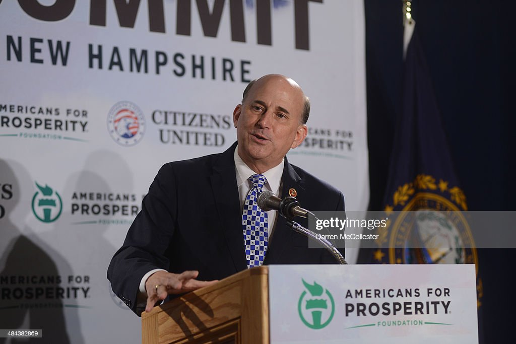 U.S. Representative Louie Gohmert (R-TX) speaks at the Freedom Summit at The Executive Court Banquet Facility April 12, 2014 in Manchester, New Hampshire. The Freedom Summit held its inaugural event where national conservative leaders bring together grassroots activists on the eve of tax day. Photo by Darren McCollester/Getty Images)