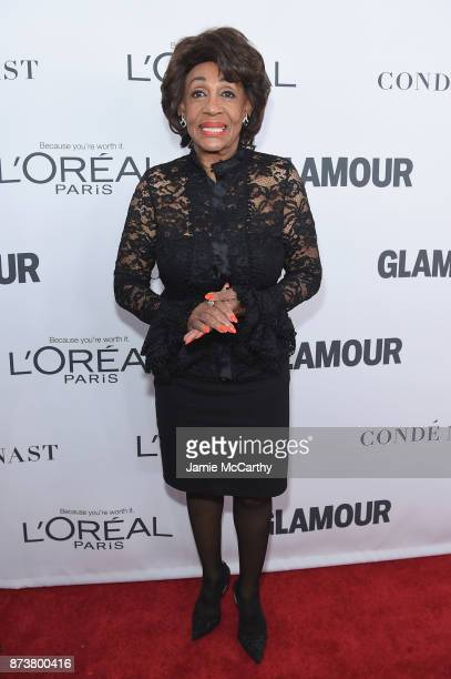 S Representative Maxine Waters attends Glamour's 2017 Women of The Year Awards at Kings Theatre on November 13 2017 in Brooklyn New York