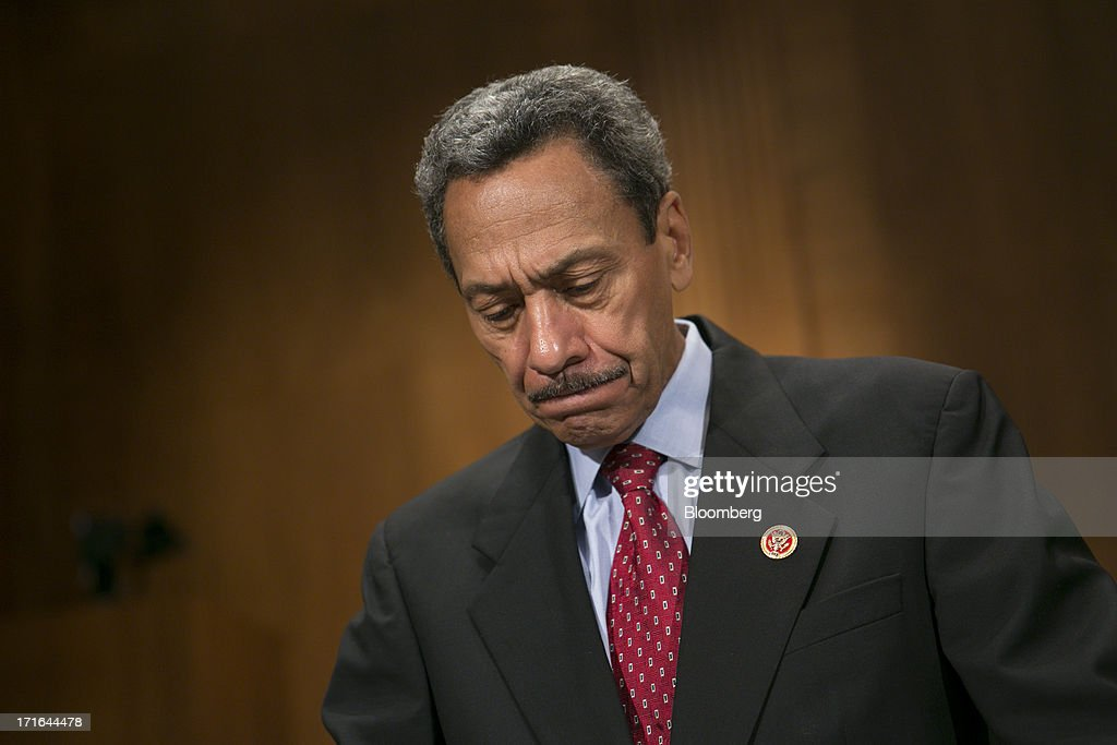 Representative Mel Watt a Democrat from North Carolina and US President Barack Obama's nominee as director of the Federal Housing Finance Agency...