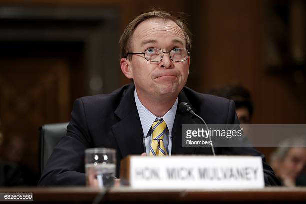 Representative Mick Mulvaney a Republican from South Carolina and Office of Management and Budget director nominee for US President Donald Trump...