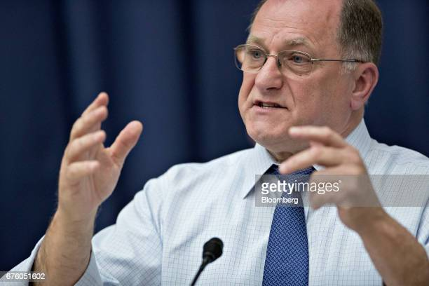 Representative Mike Capuano a Republican from Massachusetts makes a statement during a House Transportation and Infrastructure Committee hearing in...