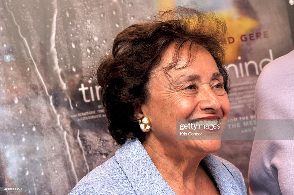 Representative <a gi-track='captionPersonalityLinkClicked' href=/galleries/search?phrase=Nita+Lowey&family=editorial&specificpeople=878051 ng-click='$event.stopPropagation()'>Nita Lowey</a>(D-NY) attends the 'Time Out Of Mind' Washington, DC Screening at Landmark E Street Cinema on July 15, 2015 in Washington, DC.