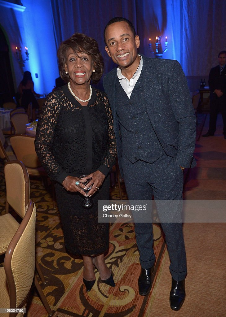 U.S. Representative of California <a gi-track='captionPersonalityLinkClicked' href=/galleries/search?phrase=Maxine+Waters&family=editorial&specificpeople=220525 ng-click='$event.stopPropagation()'>Maxine Waters</a> (L) and actor <a gi-track='captionPersonalityLinkClicked' href=/galleries/search?phrase=Hill+Harper&family=editorial&specificpeople=212847 ng-click='$event.stopPropagation()'>Hill Harper</a> attend The Equality Now's 'Make Equality Reality' Event at Montage Beverly Hills on November 3, 2014 in Beverly Hills, California.