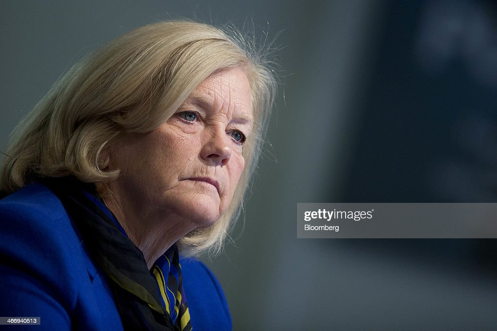 Representative Rochelle 'Chellie' Pingree, a Democrat from Maine, listens to a question during an interview in Washington, D.C., U.S., on Wednesday, Feb. 5, 2014. Pingree said she thinks House Democrats will hold President Barack Obama's line on taking no concessions to raise debt limit, and that Republicans have so far been signaling that they won't ask for any. Photographer: Andrew Harrer/Bloomberg via Getty Images