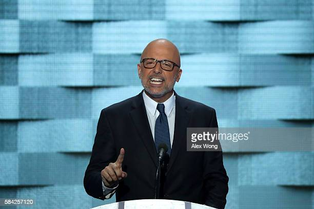 S Representative Ted Deutch on the fourth day of the Democratic National Convention at the Wells Fargo Center July 28 2016 in Philadelphia...