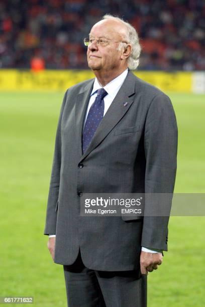 A UEFA representative who gave awards to Arrigo Sacchi Dejan Savicevic and Giovanni Trapattoni