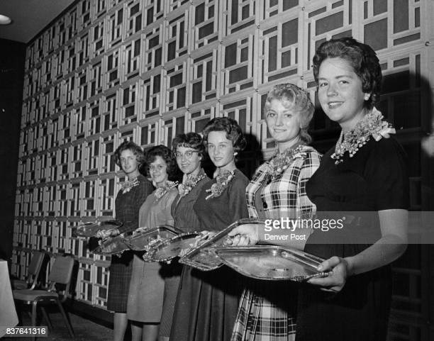 Representatives of sorority chapters with the highest 196162 scholastic aAlpha Theta Colorado State University Fort Collins Kitty Bowman Alpha Phi...