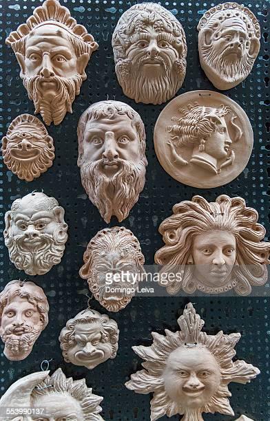 Reproductions of Greek mythology in Syracuse