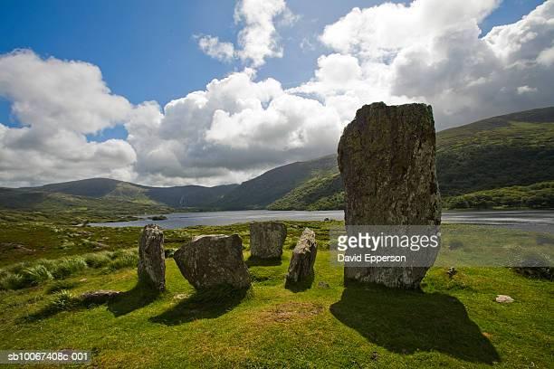 Republic of Ireland, Beara Peninsula, Glen Inchiquin, Uragh Stone Circle