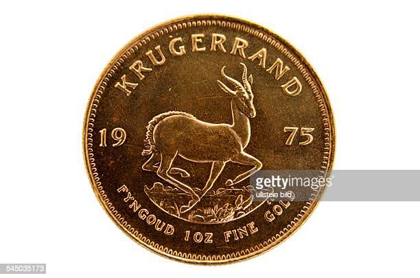 Republic of South Africa gold coin Krugerrand