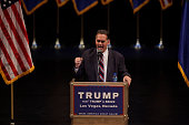 Republican congressional candidate Danny Tarkanian speaks during a rally for Republican presidential candidate Donald Trump at the Treasure Island...