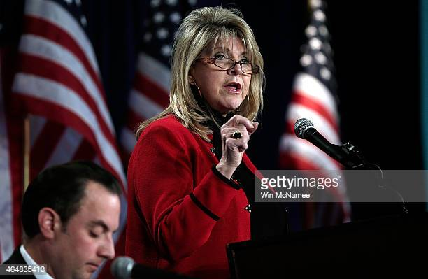 Republican National Committee CoChair Sharon Day speaks at the annual RNC winter meeting January 24 2014 in Washington DC Significant changes in the...