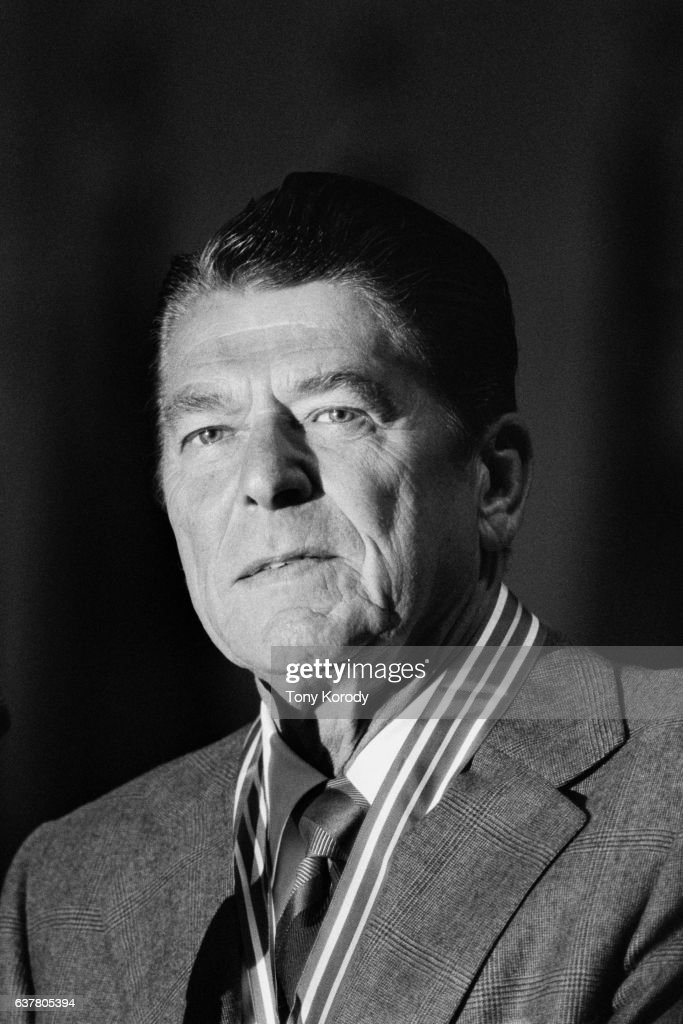 Republican Politician Ronald Reagan