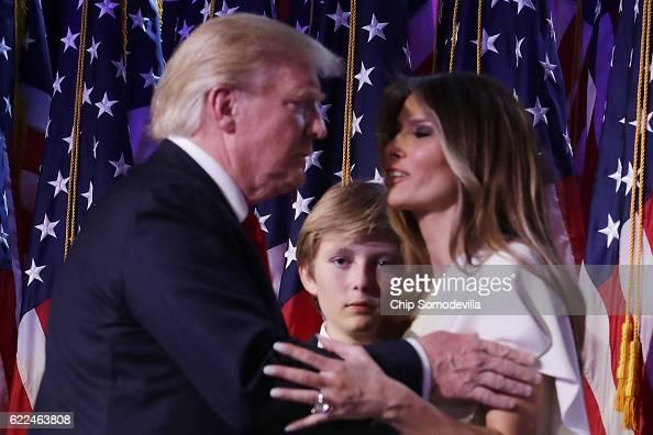 americanvoices melania barron trump wont live white house