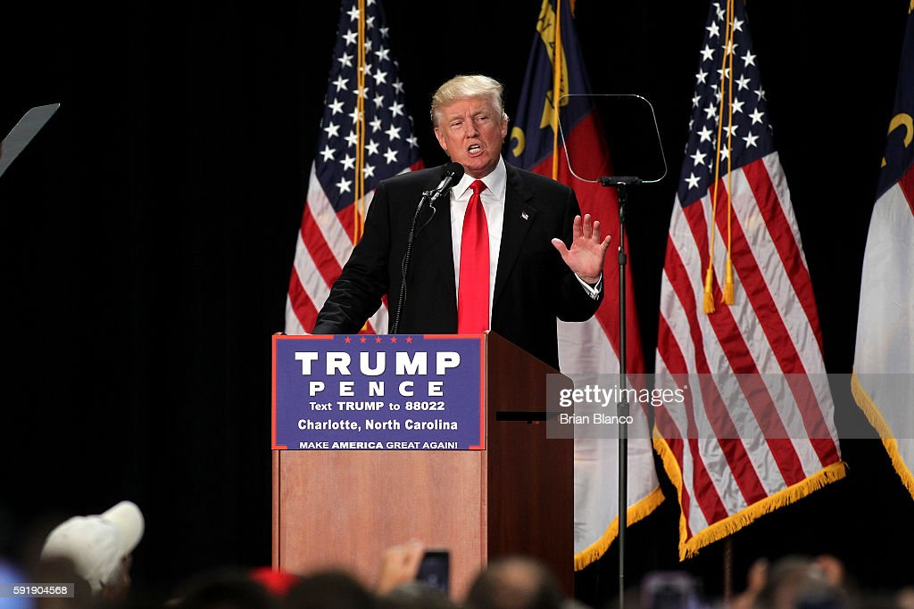Image result for donald trump 2016 august