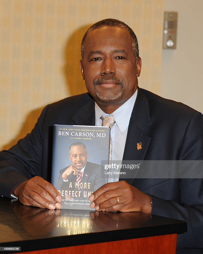 Ben Carson Book Signing at Barnes & Noble In Fort Lauderdale
