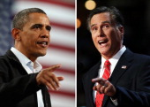 In this composite image a comparison has been made between US Presidential Candidates Barack Obama and Mitt Romney The November 6 2012 elections will...