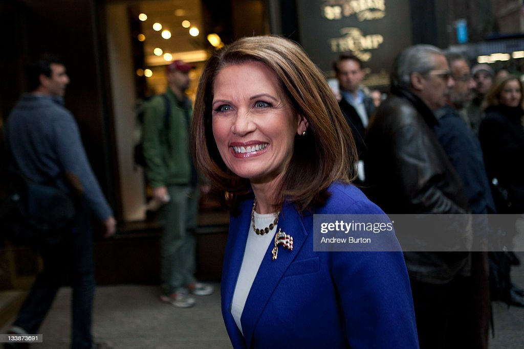 Michele Bachmann Meets With Donald Trump In New York