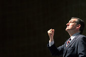 Republican presidential candidate US Sen Ted Cruz speaks during the Freedom Summit on May 9 2015 in Greenville South Carolina Cruz joined eleven...