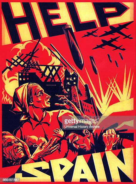 Republican propaganda poster during the Spanish Civil War 19361939