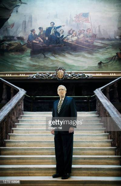 Republican Senator from Kentucky Mitch McConnell photographed for Time Magazine NY on May 27 2011 in Washington DC