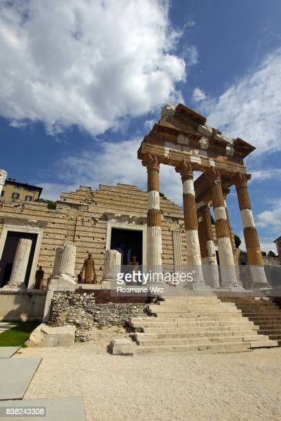 Republican Temple built in the 1st century BC