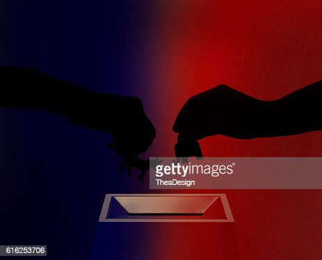 Republican vs. demócratas : Foto de stock
