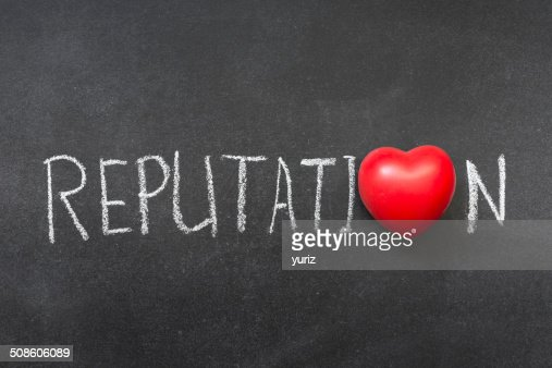 reputation : Stock Photo