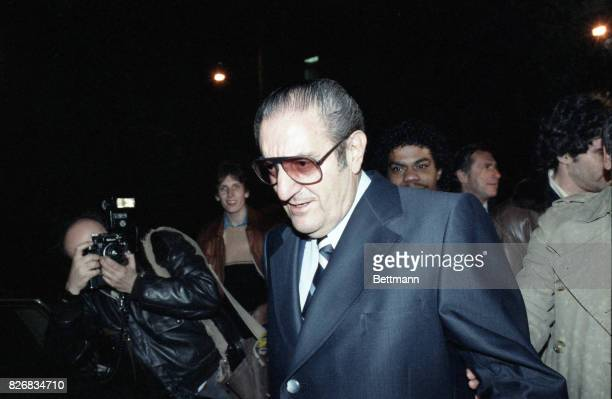 Reputed mafia boss Paul Castellano leaves Federal Court after posting $2 million bail The 4 other New York City mafia bosses were also indicted on...