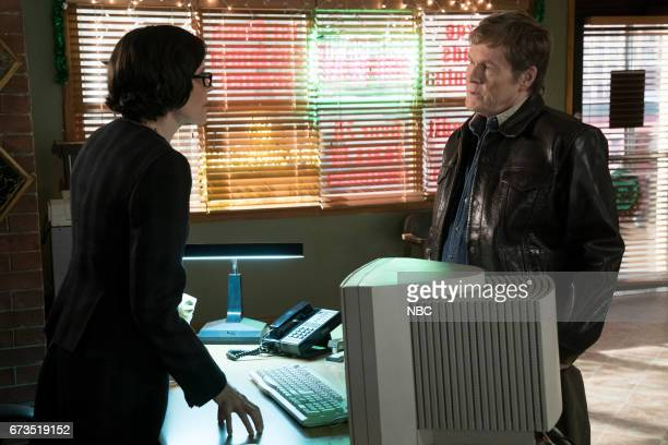 THE BLACKLIST 'Requiem' Episode 417 Pictured Joanna P Adler as Young Kate William Sadler as Sam Milhoan