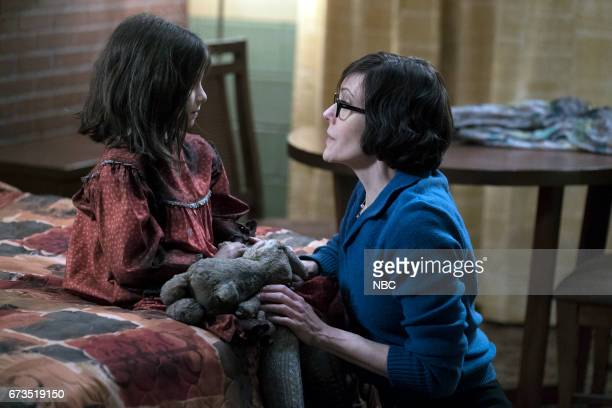 THE BLACKLIST 'Requiem' Episode 417 Pictured Lily Dewinter as Young Masha Joanna P Adler as Young Kate