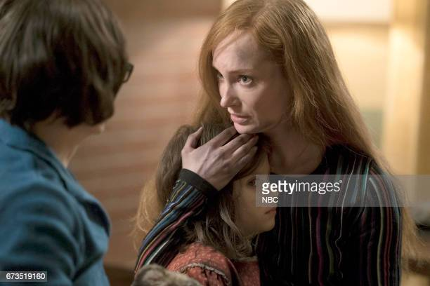 THE BLACKLIST 'Requiem' Episode 417 Pictured Lily Dewinter as Young Masha Lotte Verbeek as Katarina