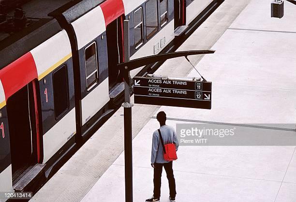 Rer In Paris France In 1998 RER B