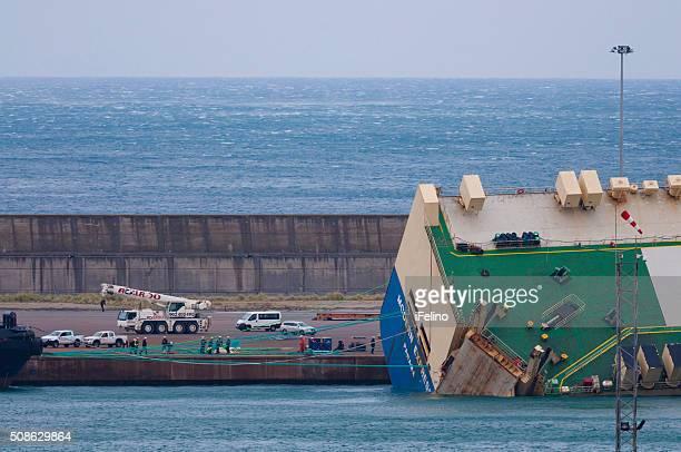 Rettung und Bergung der Schiffbruch Schiff modernen Express