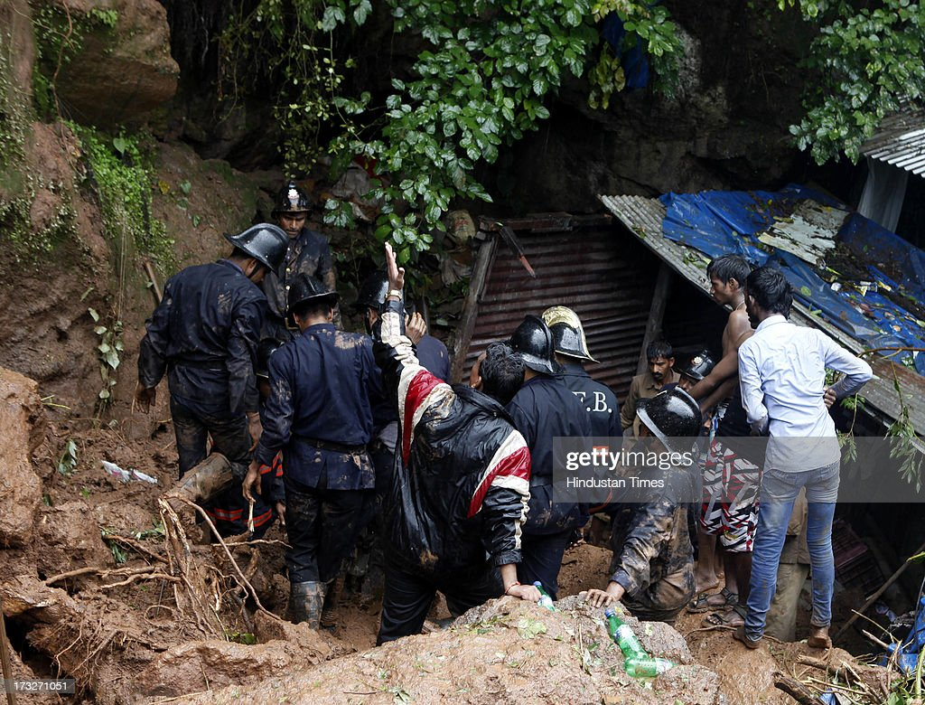 Rescue operation has been launched out by the Fire Brigade and National Disaster Response team after a hillock collapsed in landslide coming down on...