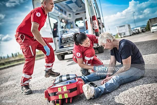 rescue team save lives